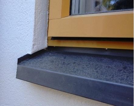 Dåligt torkade fönsterbleck
